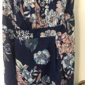 Parisian Works Dresses - Parisian Halter top maxi dress, US size 10